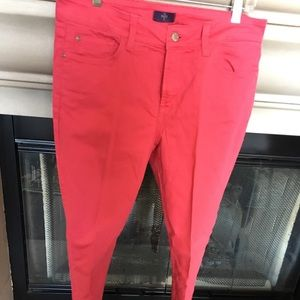 NYDJ jeans red 8